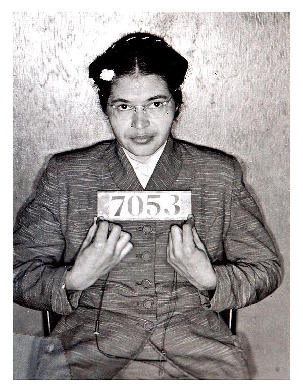 asheville-PD09 - Inmate Number held by Rosa Parks